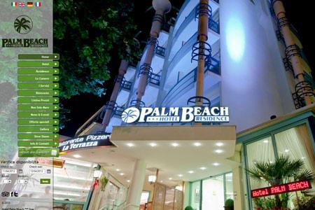 Online il sito dell 39 hotel palm beach labs la comunicazione nel mondo del 2 0 - Bagno 122 riccione ...