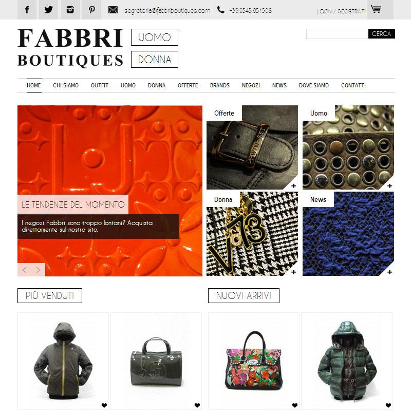 b8db2b6747b7 Fabbri Boutique è il celebre negozio di moda