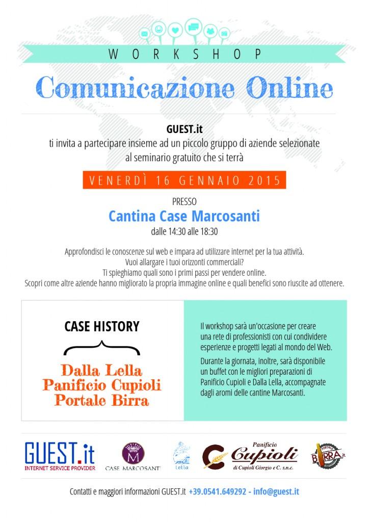 Organizza un workshop sulla comunicazione online for Costruttore di piccole case online